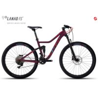 "Kolo MTB GHOST Lanao FS 5 27,5"" berry red/lake blue/riot red"