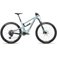 "Kolo MTB 29"" Santa Cruz Hightower LT C R skye blue/gold"