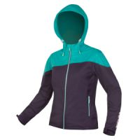 Dámská bunda ENDURA SingleTrack Softshell Navy