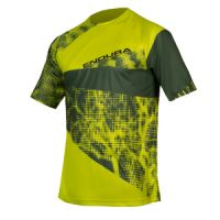 Dres ENDURA SingleTrack Dots T LTD Lime