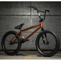 Kolo KINK BMX Curb Matte Rat Rod Red