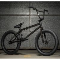 Kolo KINK BMX Launch Matte Trans Black