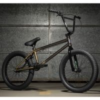 Kolo KINK BMX Gap XL Gloss Black & Brass Fade