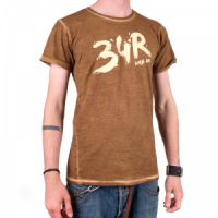 34R T-SHIRT Brush brown XL