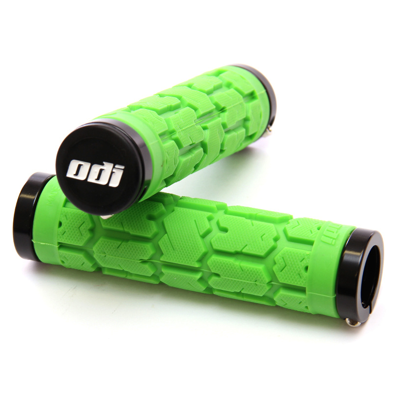 Gripy MTB ODI Rogue Lock-On Bonus Pack zelené / černé