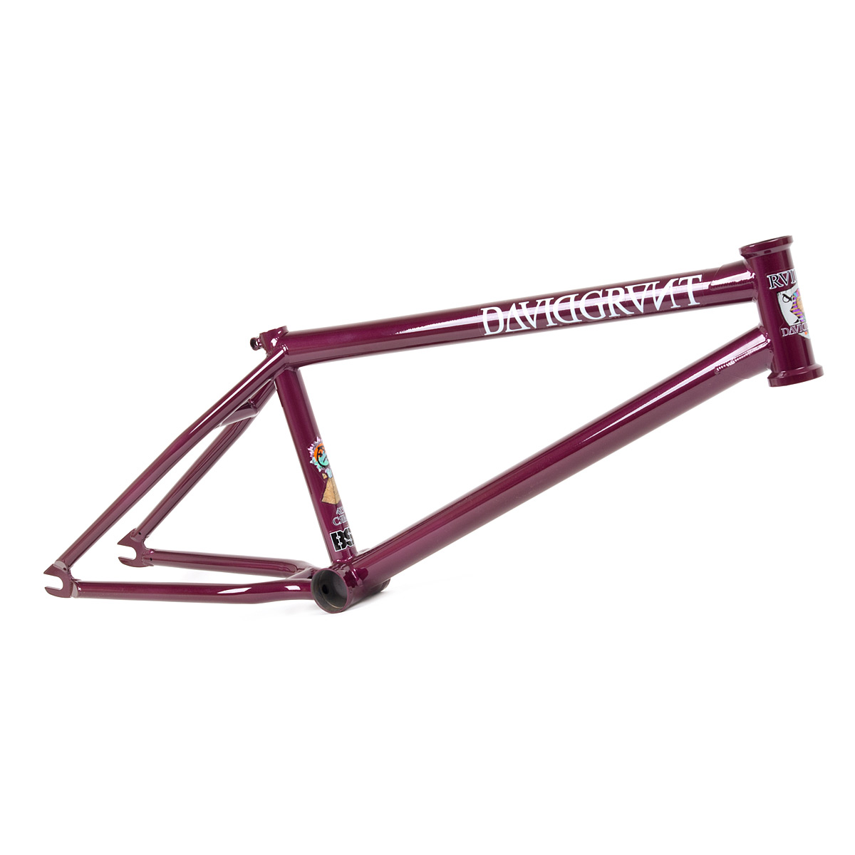 "Rám BMX BSD Raider 20.75"" Space Ghost Purple"