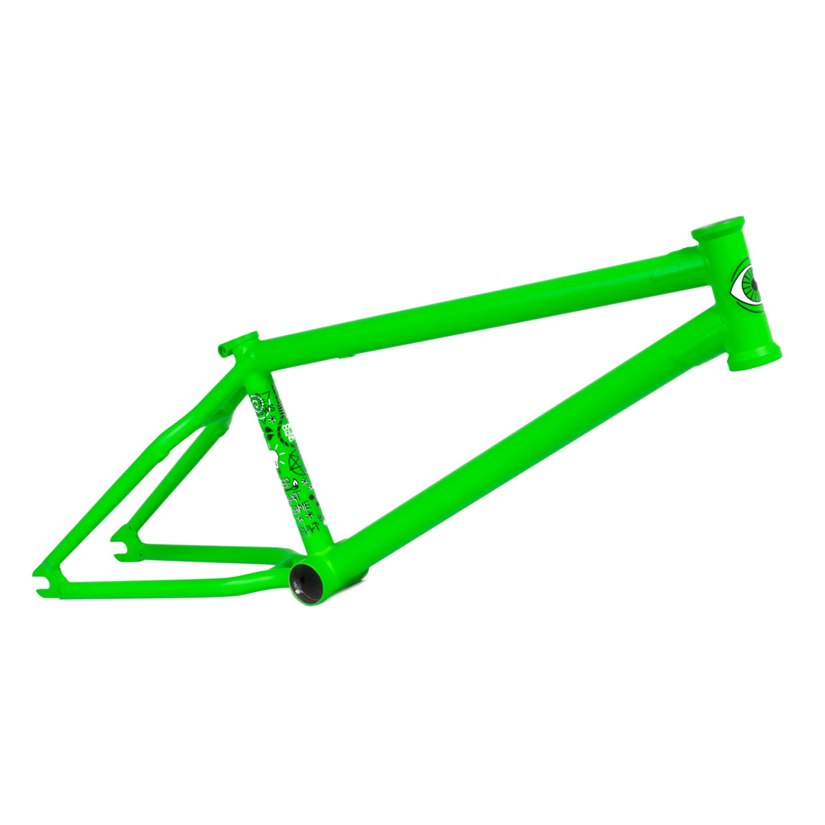 Rám BMX CULT HAWK Fluorescent Green