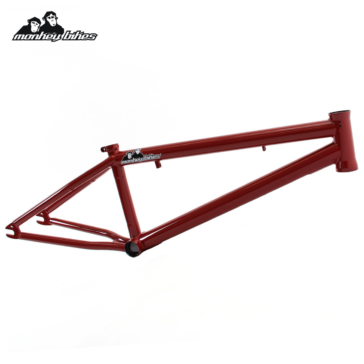 Rám BMX Monkey Bikes Cornelius PRO blood red
